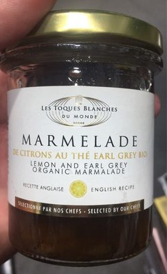 Marmelade de citrons au thé earl grey bio