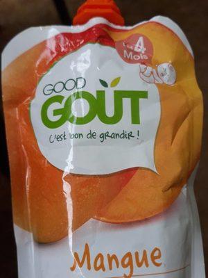 Gourde Mangue-Good Gout-120g