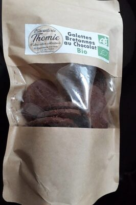 Galettes bretonnes au chocolat