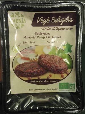Burgers vegetaux