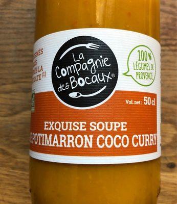 Exquise soupe Potimarron