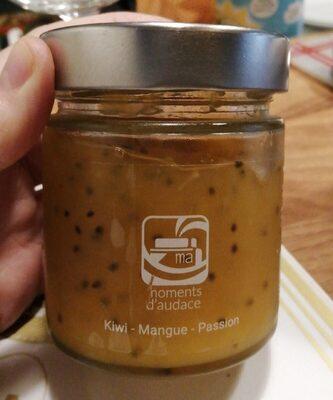 Confiture kiwi mangue passion