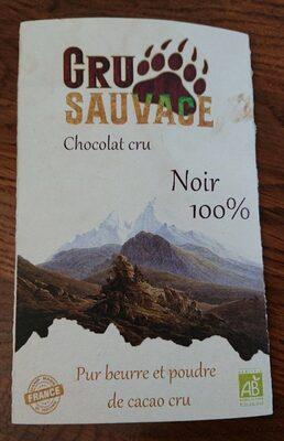 Chocolat cru noir 100%