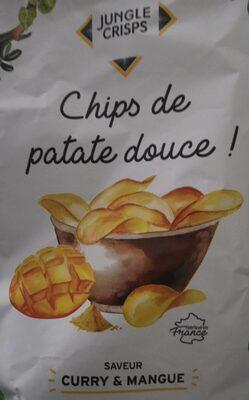 Chips de patate douce goût mangue