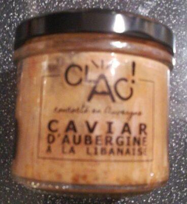 Caviar d'aubergines à la libanaise
