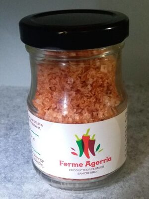 Fleur de sel de source au piment d'Espelette