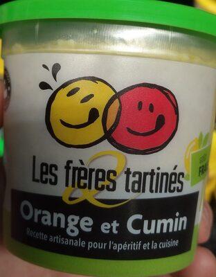 Apéritif frais orange et cumin