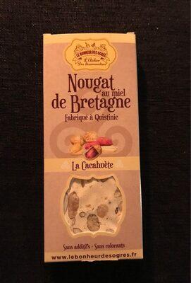 Nougat au miel de Bretagne