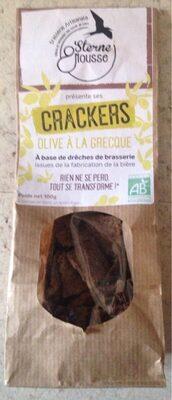 Crackers olive a la grecque