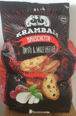 Bruschetta tomato et mozzarela