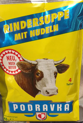 Podravka Rindersuppe Mit Nudeln