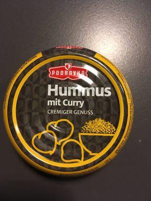 Hummus mit Curry