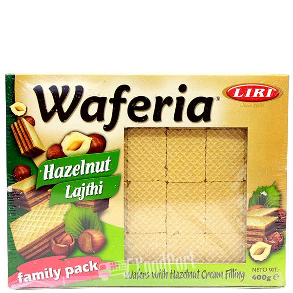 Waferia Hazelnut Waffles