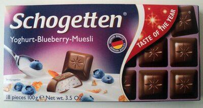 Schogetten Yoghurt-Blueberry-Muesli