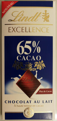 Chocolat au lait 65%