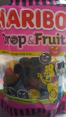 Haribo drop&fruit
