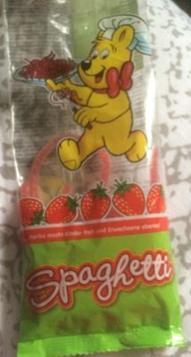 Sour Strawberry Spaghetti Bag