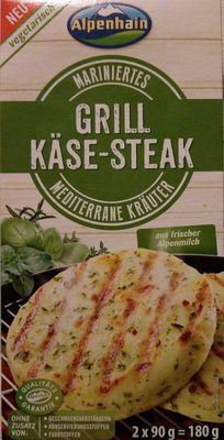 Grill Käse-Steak