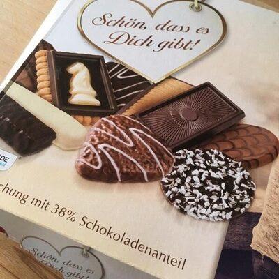 Gebäckmischung mit Schokolade