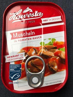 Muscheln in Tomaten-Sauce