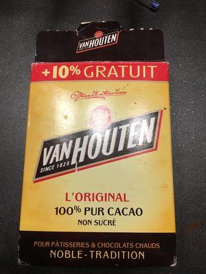 L'original Cacao non sucré (+10% gratuit)