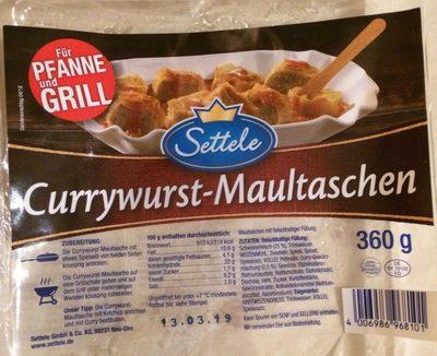 Currywurst Maultaschen