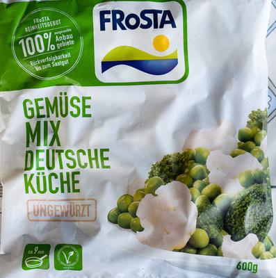 Gemüse Mix deutsche Küche ungewürzt