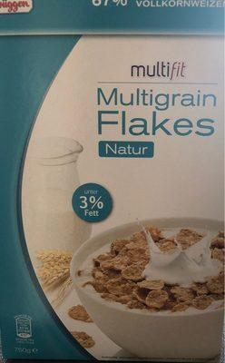 Multigrain flakes natur
