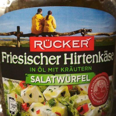 Friesischer Hirtenkäse in Öl mit Kräutern