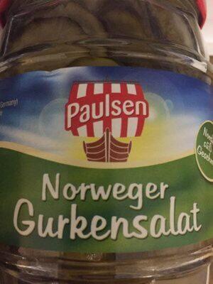 Norwegischer Gurkensalat