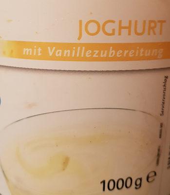Joghurt mit Vanillezubereitung
