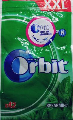 Orbit Spearmint XXL Sugarfree Chewing Gum 58 G (42 Pieces)