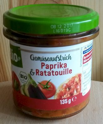 Gemüseaufstrich Paprika & Ratatouille
