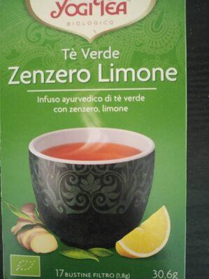 Té verde zenzero limone
