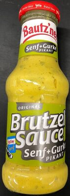 Brutzel Sauce Senf + Gurke