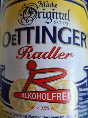 Oettinger Radler Alkoholfrei