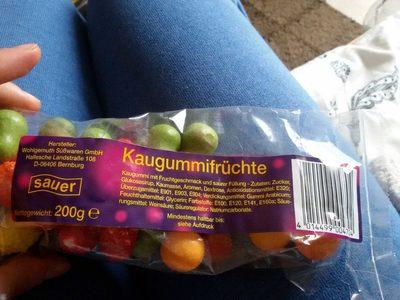 Kaugummifrüchte (sauer)
