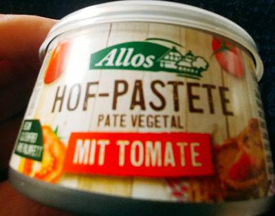 Hof Pastete mit Tomate