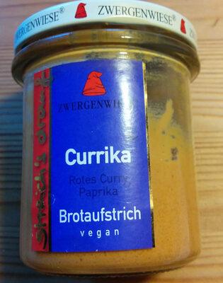 Currika, Brotaufstrich vegan