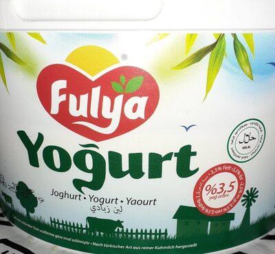 Joghurterteugnis Mit Sahne 3,5% Fett Fulya Yayla GMBH