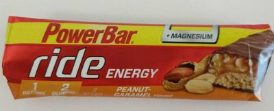Ride Energy Peanut Caramel Flavour
