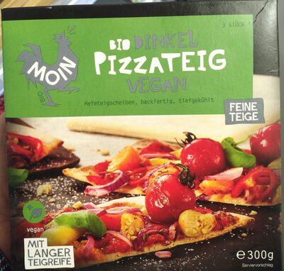 Bio dinkel pizzateig vegan