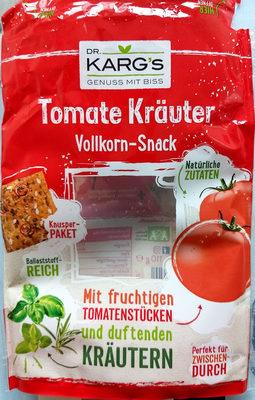 Tomate Kräuter Vollkorn-Snack