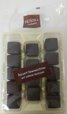 Dessert Dominosteine mit echtem Marzipan