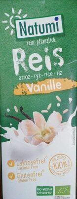 Bebida arroz y vainilla