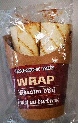 Wrap Hähnchen BBQ
