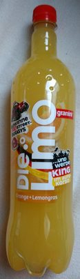 Die Limo Orange + Lemongras