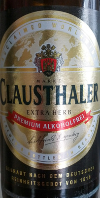 Clausthaler Extra Herb - 0,33 L
