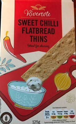 Sweet chilli flatbread thins