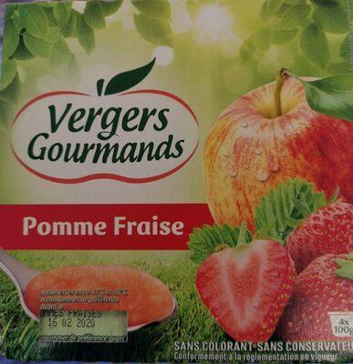 Vergers Gourmands Pomme Fraise
